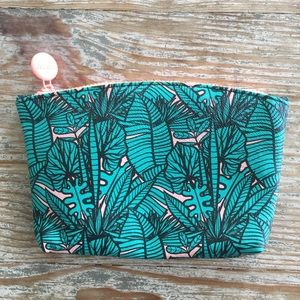 IPSY JULY 2019 PALM TREE PRINT COSMETIC MAKEUP BAG